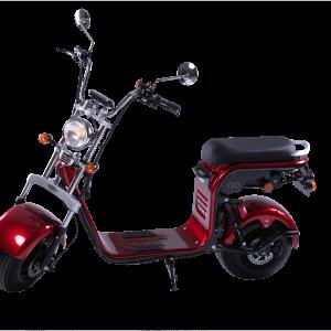 Električni skuter Mini Harley – Red wine