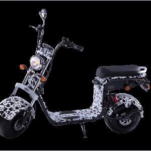 Električni skuter Mini Harley – Zebra