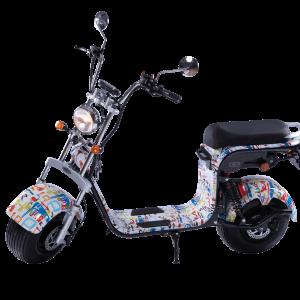 Električni skuter Mini Harley – Paint