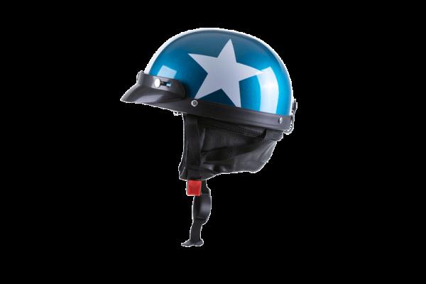 kaciga za elektricni skuter blue star blonti
