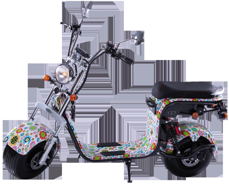 elektricni skuter mini harley flower 002