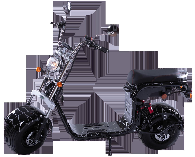 elektricni skuter mini harley spiderman 002