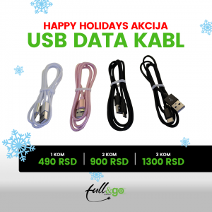 USB data kabl 3 kom.