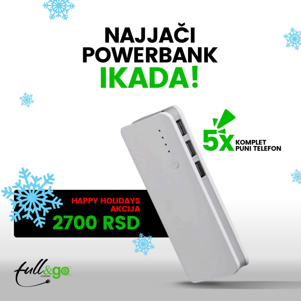 powerbank full and go