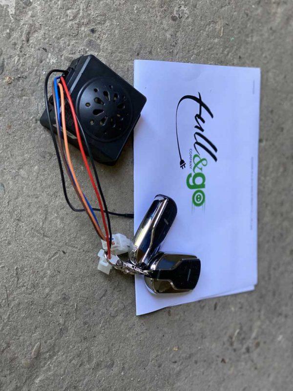 rezervi delovi za elektricne skutere kljuc sa alarmom 4