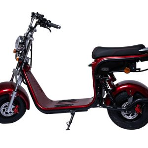 Električni skuter Mini Harley – Red wine